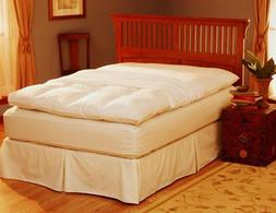 Pacific Coast 157 Feather Bed Cover With Zip Closure - Queen