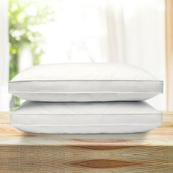 Puredown® 2 Pack Quilted Premium Feather & Down Bed Pillows