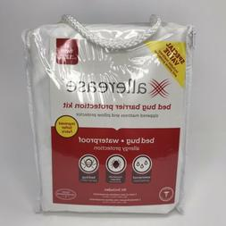 Allerease Bed Bug Protection Mattress Zippered Protector & P