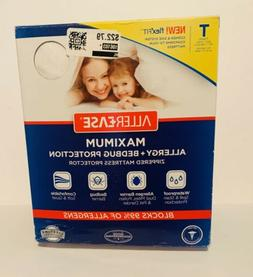 AllerEase Maximum Allergy & Bed Bug Protection Twin Zipped P