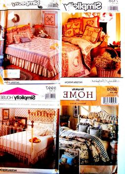 BEDROOM & OFFICE ACCESSORIES Sew Craft Patterns QUILT PILLOW