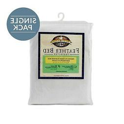 Brand New Pacific Coast Basic Feather Bed Protector 230 Thre