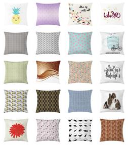 Ambesonne Cushion Cover, Throw Pillow Case Decorative for Co