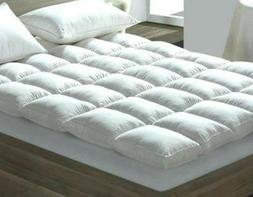 Duck Feather & Down 4--5CM Thick Mattress Topper OR Pillows