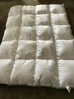 Feather down Mattress Topper Queen Premium Extra Thick   Qui
