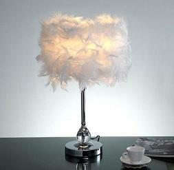 Feather Fest Table Lamp