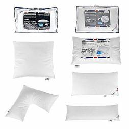 Homescapes Feather Pillows Duck Goose Down Body V Shaped Kin