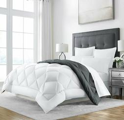 Heavy Comforter Goose Feather Down Warm King/Cal Blanket Bes