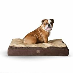 """KandH Feather Top Orthopedic Pet Bed size: 40""""L x 50""""W x 6.5"""