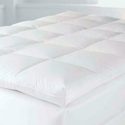4 in goose down feather baffled mattress