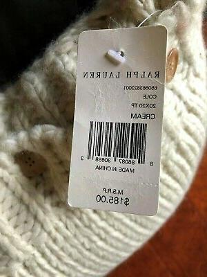 RALPH CABLE KNIT Cream