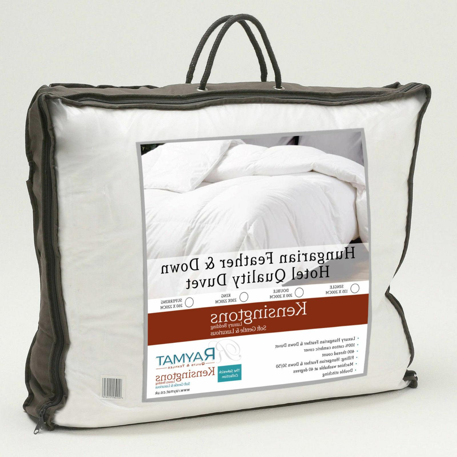 Hungarian Down Duvets & 50% All Togs