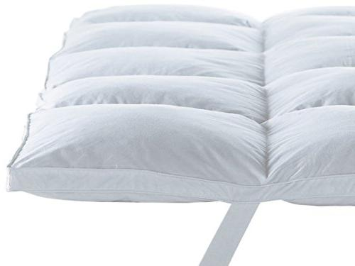 Home Sweet Home Dreams Hypoallergenic Bed Mattress Topper, H, Full