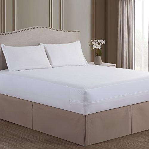 Bed Bug All In One Breathable Full Mattress Cover Protector Dust Mite