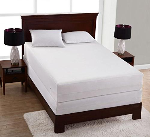 Bed All In One Full Cover Protector Zippered Dust Mite