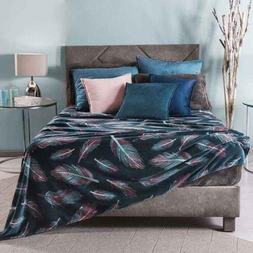 MINSK DESIGN BLANKET VERY SOFTY AND WARM QUEEN SIZE
