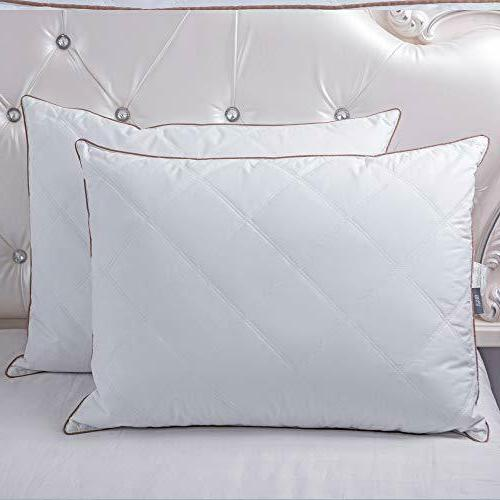 Natural Down Pillows for 100% of 2