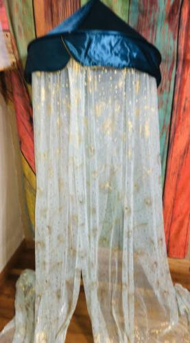 new aladdin golden feathers play canopy over