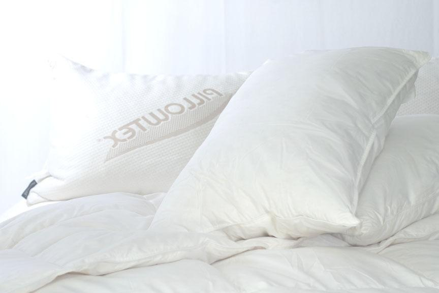 triple core feather and down pillow