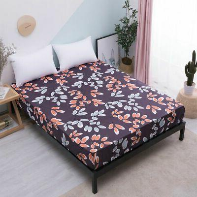 Waterproof Quilted Mattress Protector Cot Bed Cover Sheet
