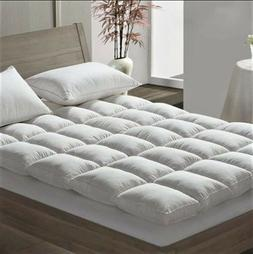 Luxury Duck Feather & Dawn Box Stitched Quilted Mattress Top