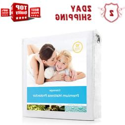 Mattress Cover Protector Waterproof Pad Full Size Bed Cover