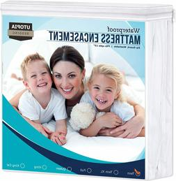 mattress encasement cover waterproof zippered bed bug