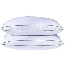 Natural Goose Down Feather Pillows Sleeping Oval Gusseted Do