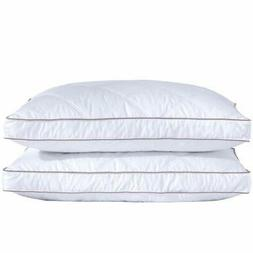 puredown Natural Goose Down Feather Sleeping 100% Cotton Pil