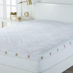 """New Concierge Collection 4"""" Gusset Featherbed, California Ki"""