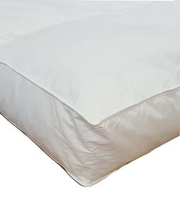 """Millsave Premium 4"""" or 5"""" Goose Down Feather Bed Mattress To"""