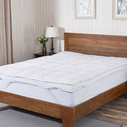 premium goose down feather mattress pad topper