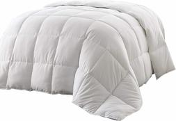 QUEEN Size Feather Comforter Heavy Goose Down Super Soft Lux