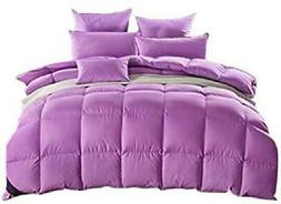 rose feather luxurious white goose down comforter