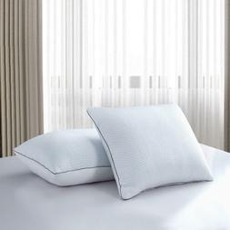 Serta Summer And Winter White Goose Feather Down Bed Pillow