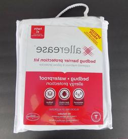 AllerEase Twin XL Bedbug Barrier Protection Kit Mattress & P
