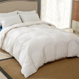 Puredown White Goose Down Ultra Feather Comforter