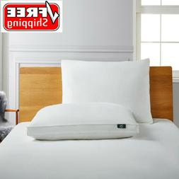 Serta White Goose Feather And Down Fiber Side Sleeper Pillow